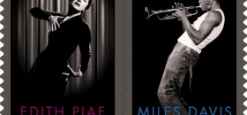 Renowned Musicians Miles Davis and Edith Piaf To Be Honored on Stamps