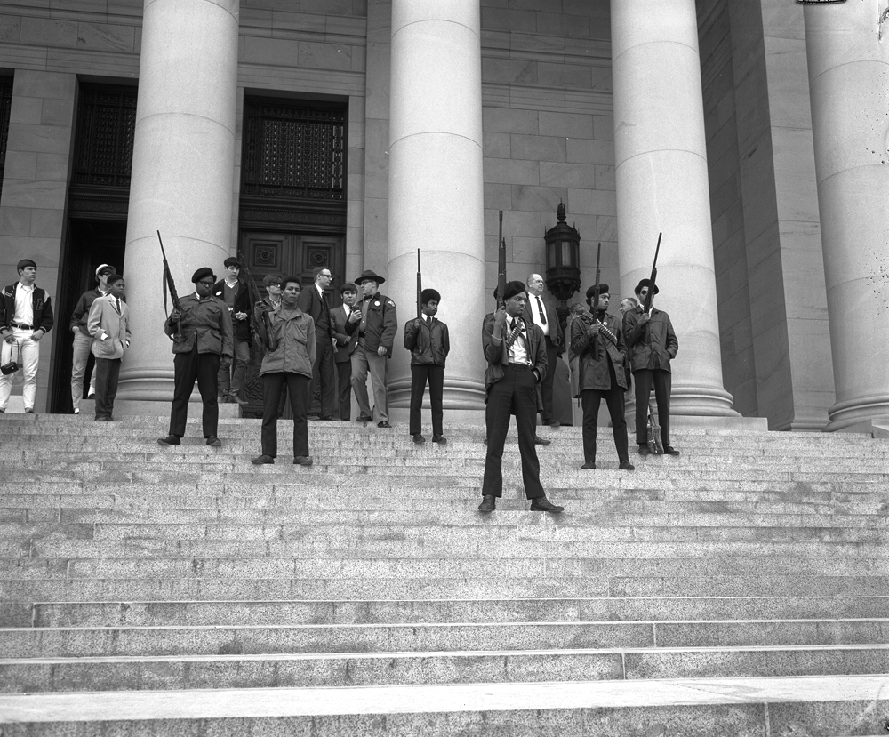 The Mulford Act was a 1967 California bill prohibiting the public carrying of loaded firearms. Named after assemblyman Don Mulford, the bill garnered national attention after the Black Panthers marched on the California Capitol to protest the bill.
