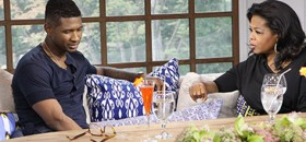 Usher Opens Up on 'Oprah's Next Chapter'