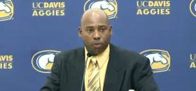 Ron Gould Head Football Coach for UC Davis