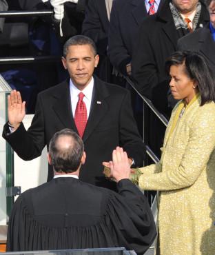 Obama Inaugurated