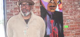 Artist, Otis Simpson's Work As Solid As A Brick