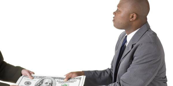 black man money