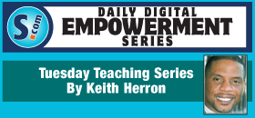 KEITH HERRON: The Energy You Bring