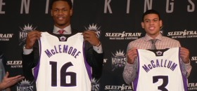 "Kings' Rookies McLemore & McCallum are ""Ready To Rock"" New Era"