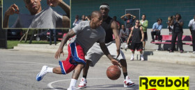 Sacramento King point guard Isaiah Thomas is getting a lot of air time out his Reebok shoes' commercial. The clip, that contains 10 hours of additional footage, was shot in Los Angeles with Brooklyn Nets' Jason Terry and Philadelphia 76ers' Nerlens Noel.