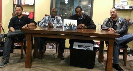 Sacramento's Finest Photographers will be at underground books for an Art Talk!! April 26 from 5-7 pm.   (L-R) Rayford Johnson,  Antonio Harvey, Larry Dalton and Robert Maryland.