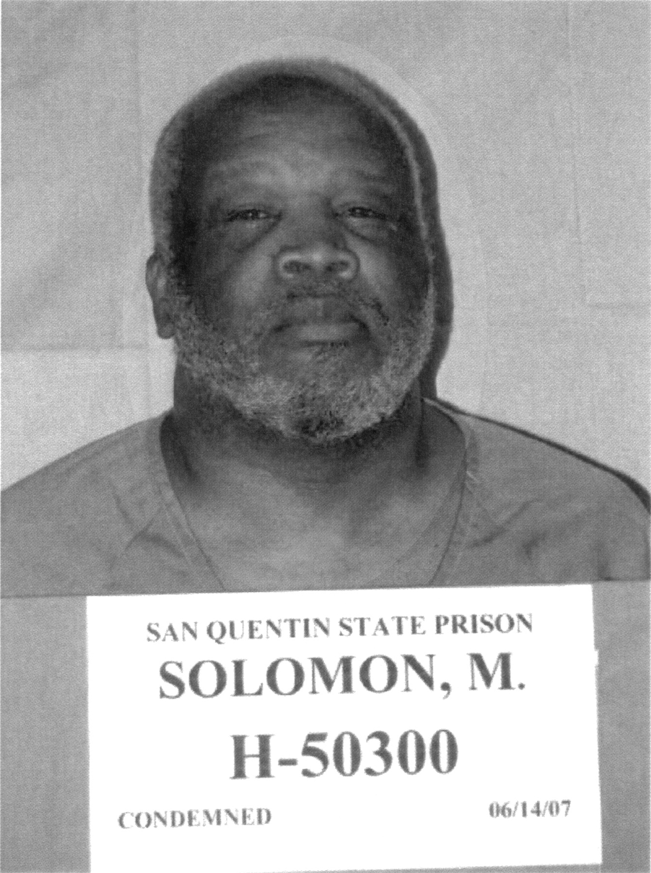 "Morris Solomon Jr. is on death row in San Quentin State Prison for killing six women in the 1980s. OBSERVER staff writer Antonio R. Harvey wrote a book, ""The Homicidal Handyman of Oak Park,"" about the serial-homicide case under his pen name, Tony Ray Harvey. (Solomon photo courtesy of the California Department of Corrections and Rehabilitation)"