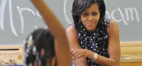 COMMUNITIES IN SCHOOLS MICHELLE OBAMA