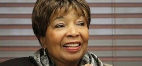 Congresswoman Eddie Bernice Johnson applauds gains in health care coverage by African-Americans and Latinos. (Courtesy photo)