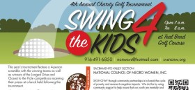 "National Council of Negro Women presents ""Swing 4 the Kids"" Charity Golf Tournament"
