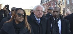 Presidential Candidate Bernie Sanders Meets with Black Pastors