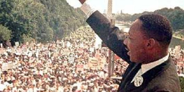 Martin Luther King crop