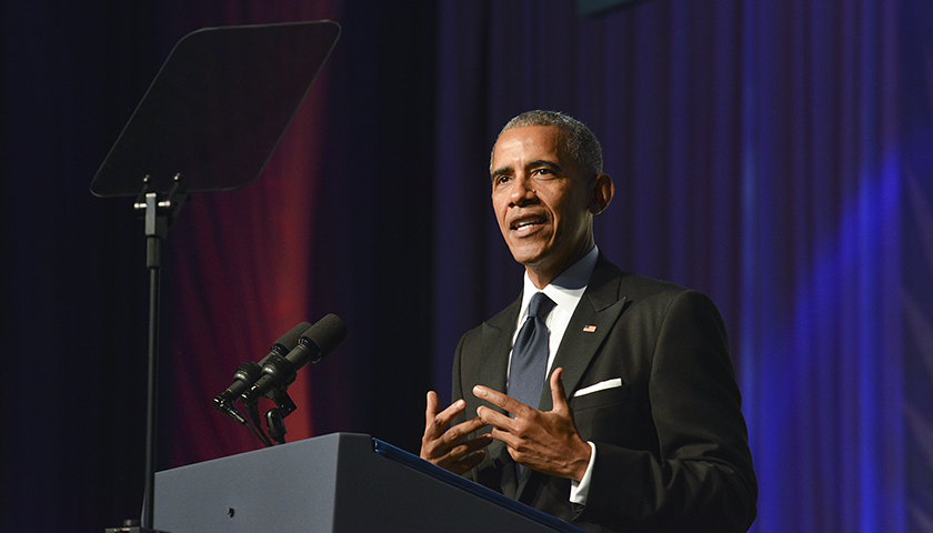 "During his keynote address at the 2016 Phoenix Awards gala, President of Barack Obama said: ""My name may not be on the ballot, but our progress is on the ballot. Democracy is on the ballot. Justice is on the ballot."" (Freddie Allen/AMG/NNPA)"