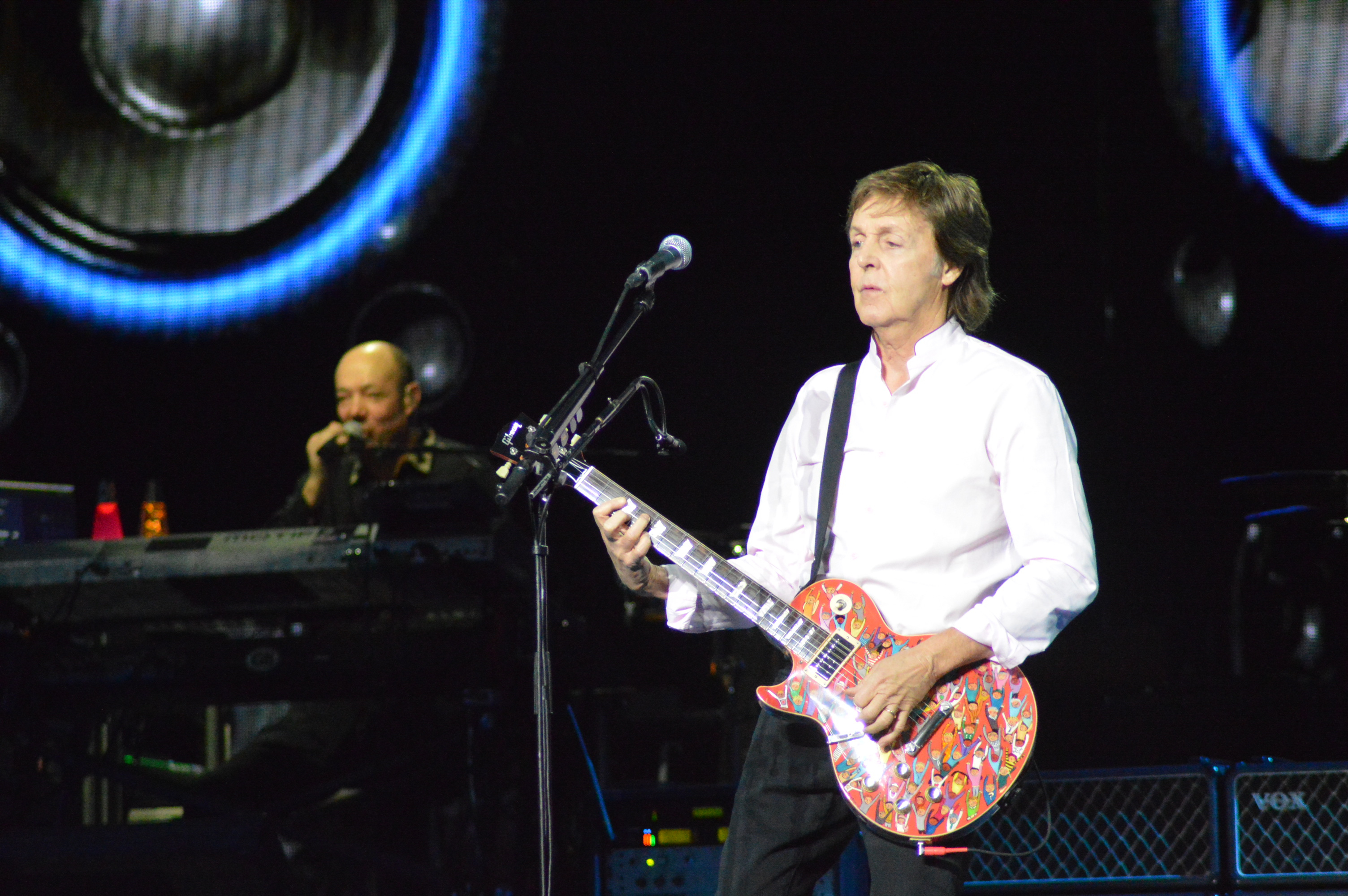 The Legendary Musical Icon Paul McCartney Completed His Two Night Run At New Golden 1 Center In Downtown Sacramento Sir Had Opportunity