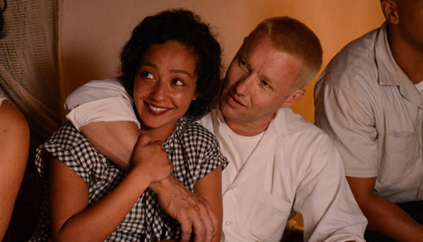 "Joel Edgerton (right) and Ruth Negga (second from right) star in ""Loving."" (Focus Features)"