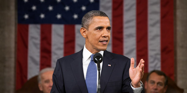 President Barack Obama delivered his farewell address as the leader of the free world on Tuesday, January 10 in Chicago, Ill. This photo was taken during the 2011 State of the Union Address. (Pete Souza/WH/Wikimedia Commons)