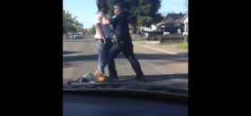 Sacramento officer seen on video punching jaywalker in face