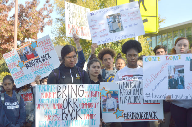 Christian Brothers Near Me >> The Sacramento Observer Students Walk Out Of Christian
