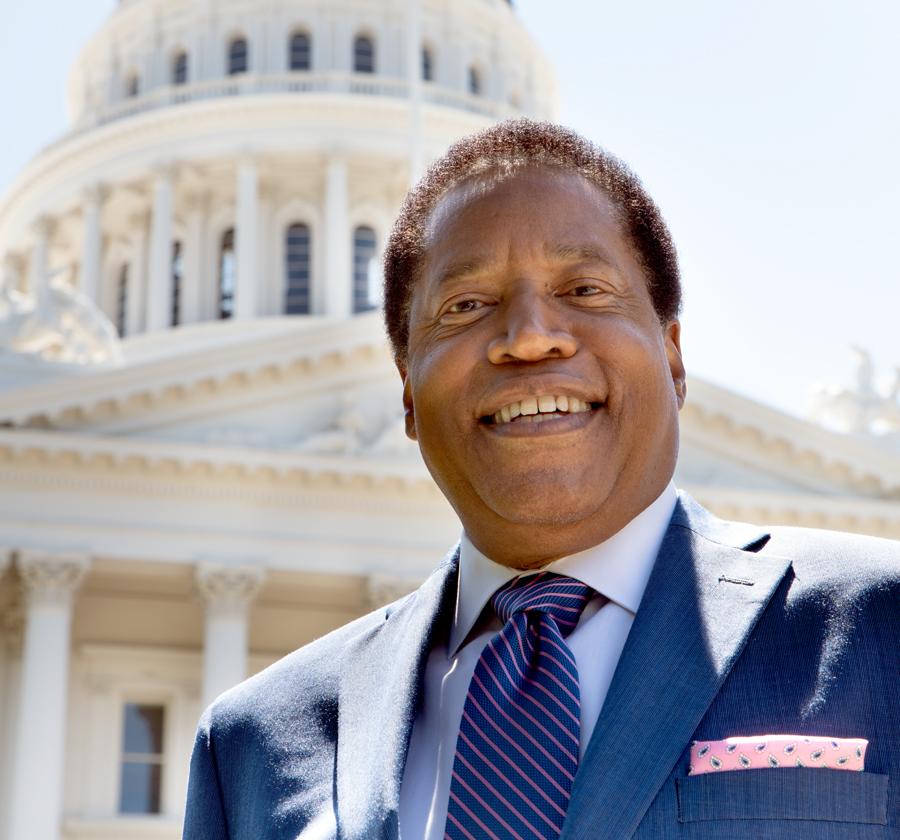 Black Conservative Larry Elder Talks About His Run For California Governor  - The Sacramento Observer